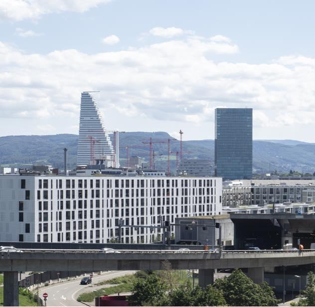 Moderne Geschäftsräume in Basel