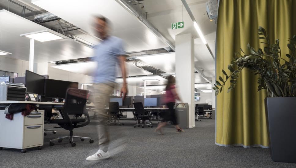 Hochbergerstrasse Büroräume und Gewerbeflächen von innen